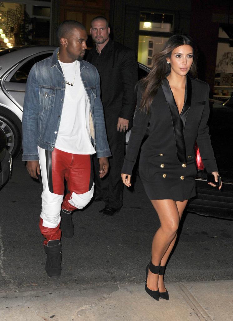 Kim Kardashian, Kanye West, Miralos