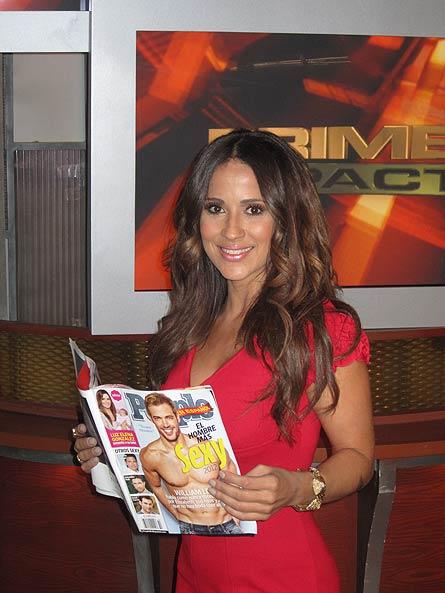 Jackie Guerrido, People en Español, William Levy, El hombre más sexy 2012