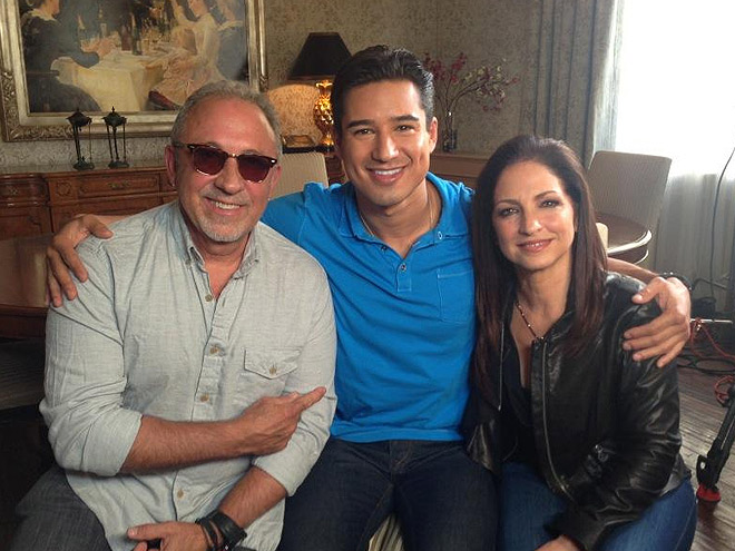 EMILIO Y GLORIA ESTEFAN, MARIO LÓPEZ, Twitter