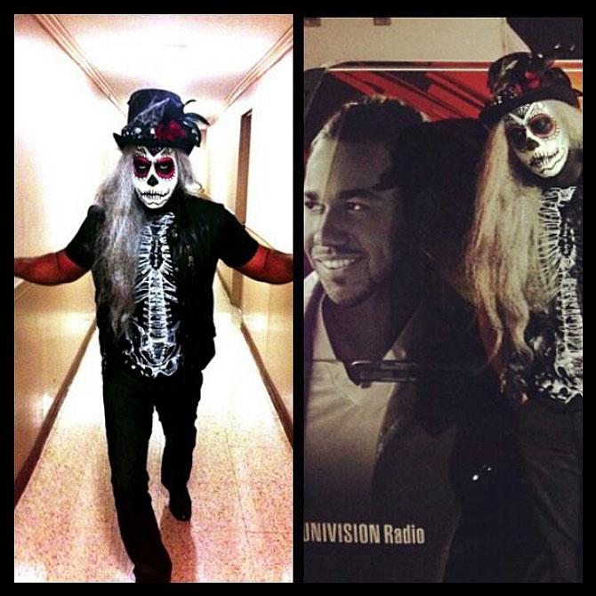 Romeo Santos, Halloween