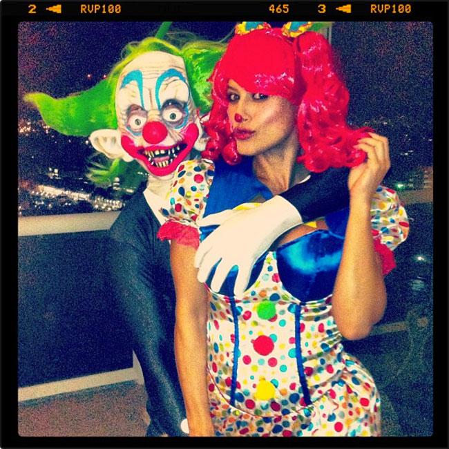 Aarón Díaz, Lola Ponce, Halloween