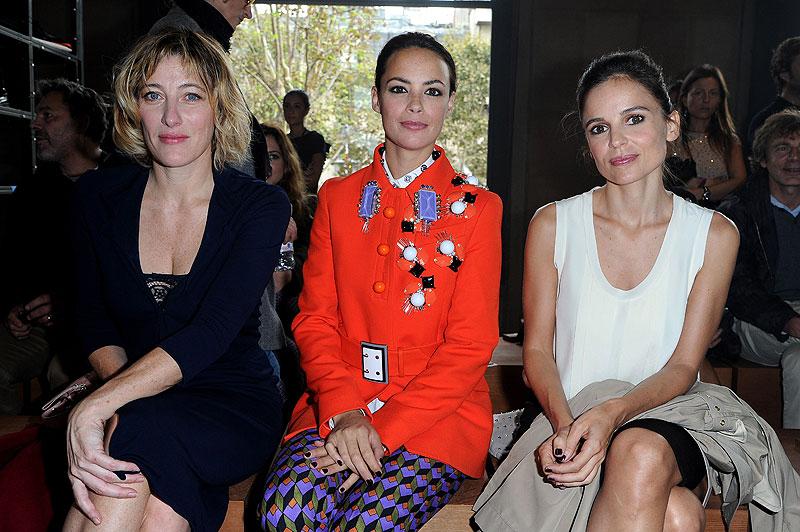 Celebridades de la Semana de la Moda de París, Valeria Bruni Tedeschi, Berenice Bejo, Elena Anaya