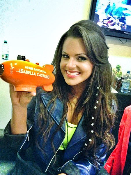 Isabella Castillo, Kid's Choice Awards