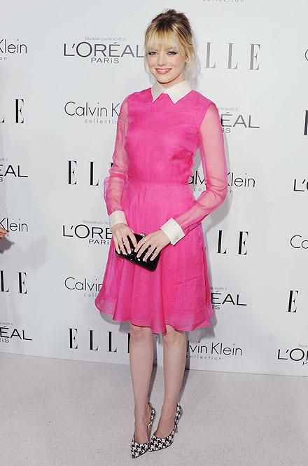 Emma Stone, El look del día