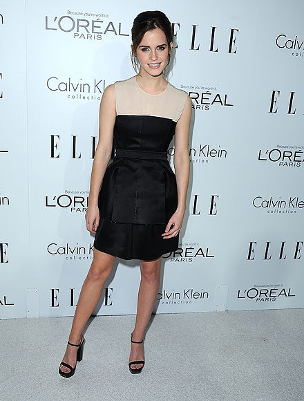 Emma Watson, El look del día