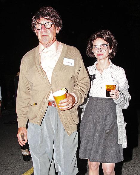 Harrison Ford, Calista Flockhart, Halloween