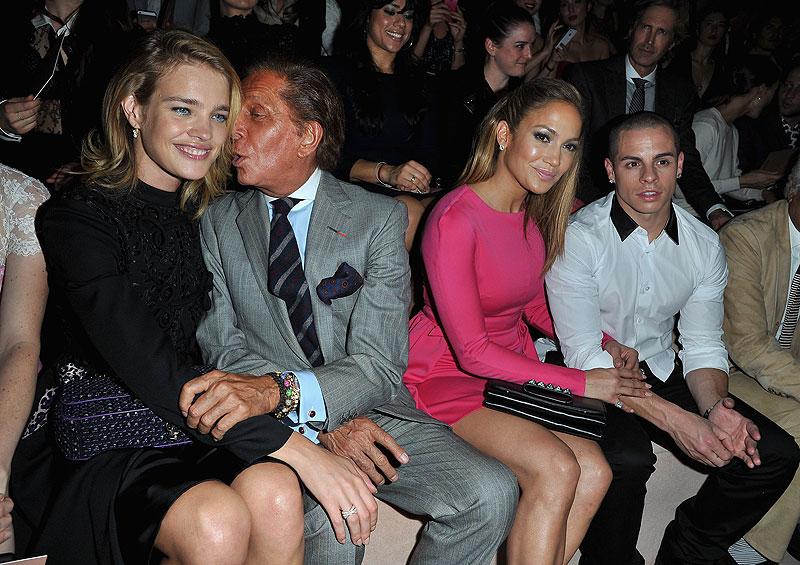 Semana de la Moda de París, Jennifer Lopez, Valentino