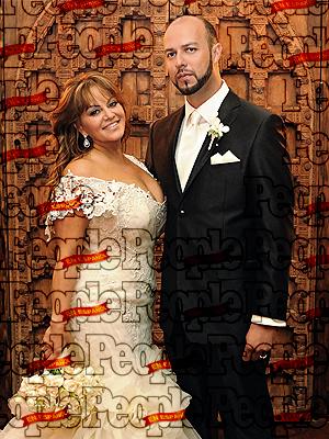 La boda de Jenni Rivera y Esteban Loaiza