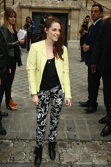 Semana de la Moda de París, Kristen Stewart