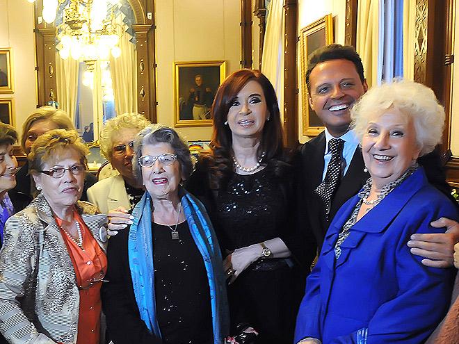 Cristina Fernández de Kirchner, Luis Miguel