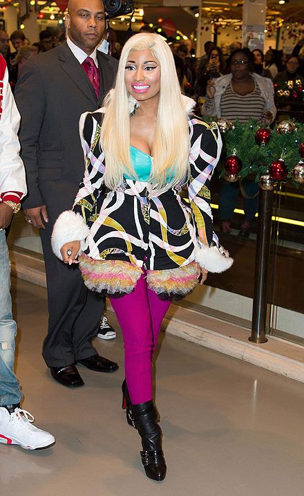 Nicki Minaj, elecciones presidenciales