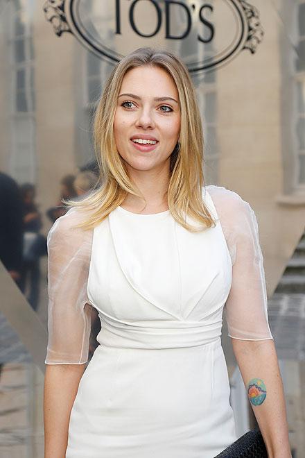 Semana de la Moda en París, Scarlett Johansson