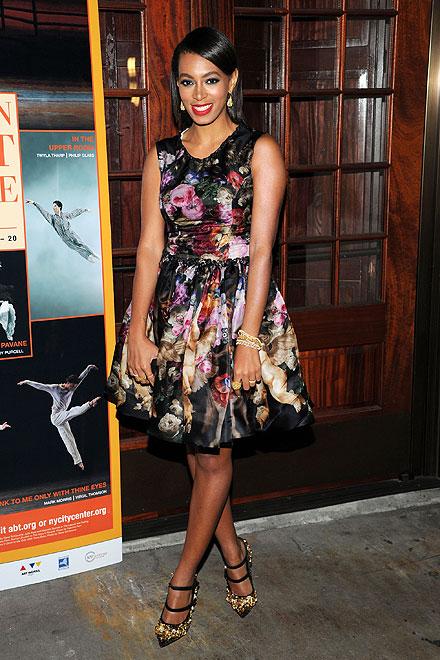 Solange Knowles, El look del día