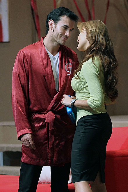 David Zepeda, Angelique Boyer
