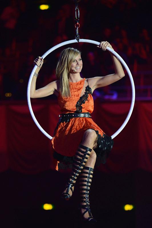 Heidi Klum, MTV EMA 2012