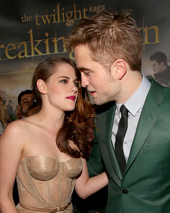 Kristen Stewart, Robert Pattinson, Miralos