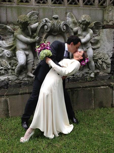 Cynthia Klitbo y David Gerstein, bodas de famosos del 2012