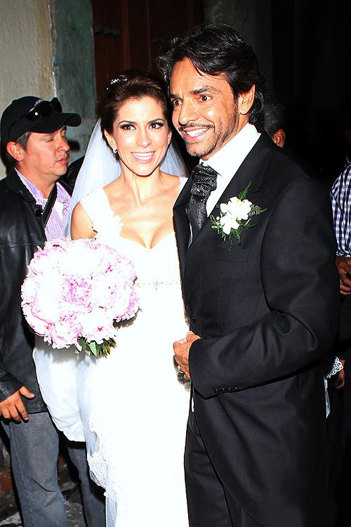 Alessandra Rosaldo y Eugenio Derbez, bodas de famosos 2012