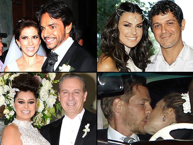 FAMOSOS QUE SE CASARON EN EL 2012