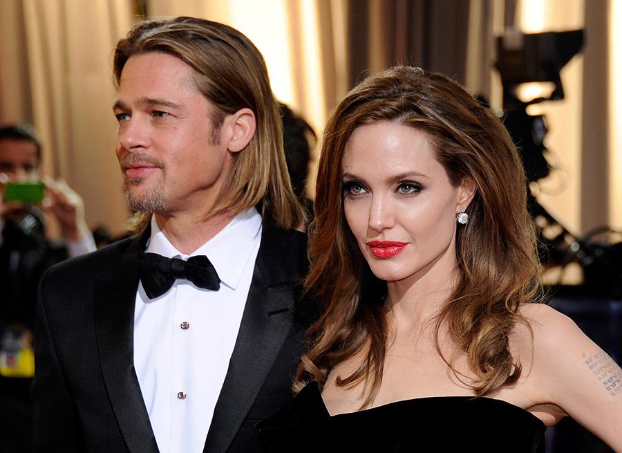 Angelina Jolie y Brad Pitt, bodas de famosos 2012