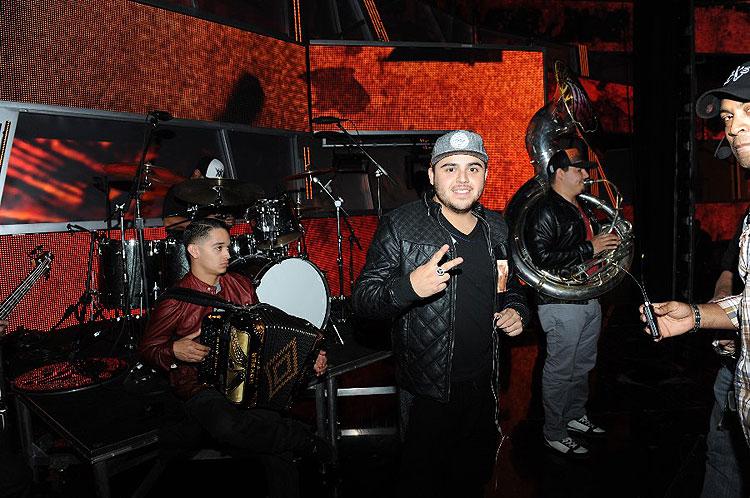 Gerardo Ortiz, ensayos Latin Grammys 2012
