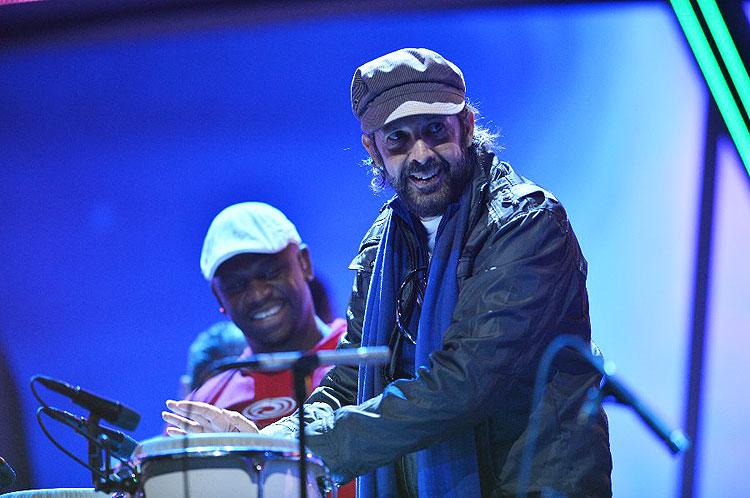Juan Luis Guerra, ensayos Latin Grammys 2012