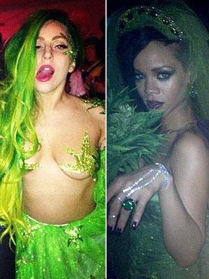 Lady Gaga y Rihanna
