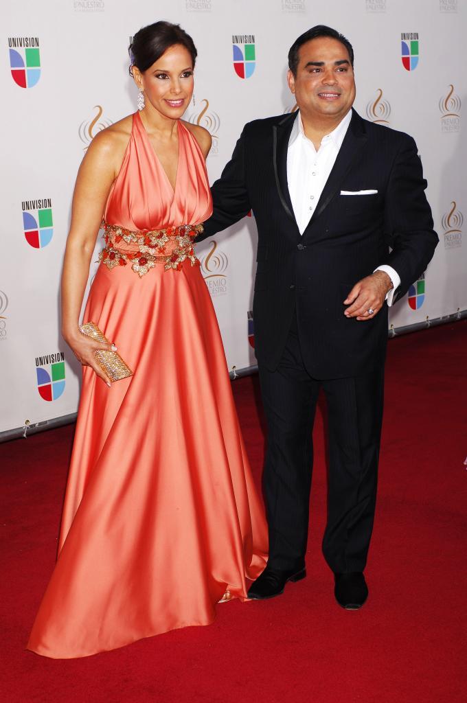 Gilberto Santa Rosa y Alexandra Malagón, bodas de famosos 2012