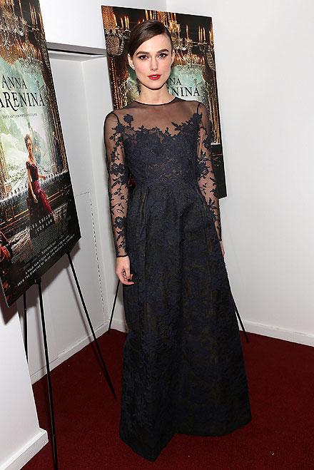 Keira Knightley, El look del día