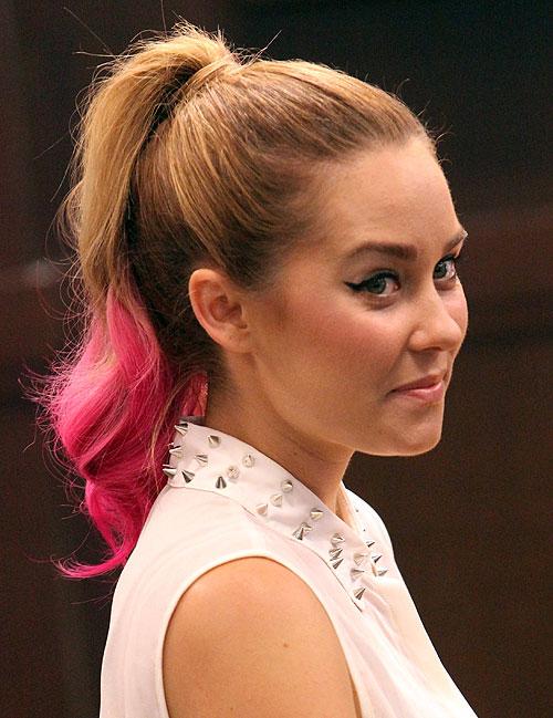 Lauren Conrad, Famosas con mechas de colores