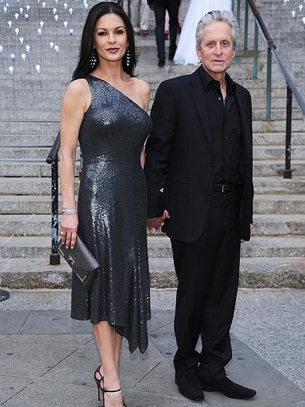 Catherine Zeta-Jones, Michael Douglas, famosos que dejaron de fumar