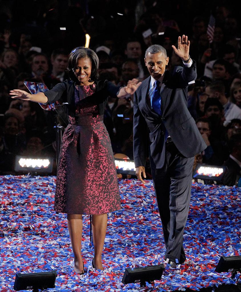 El vestido de Michelle Obama
