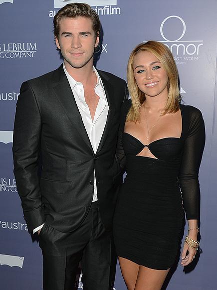 Liam Hemsworth y Miley Cyrus, bodas de famosos 2012