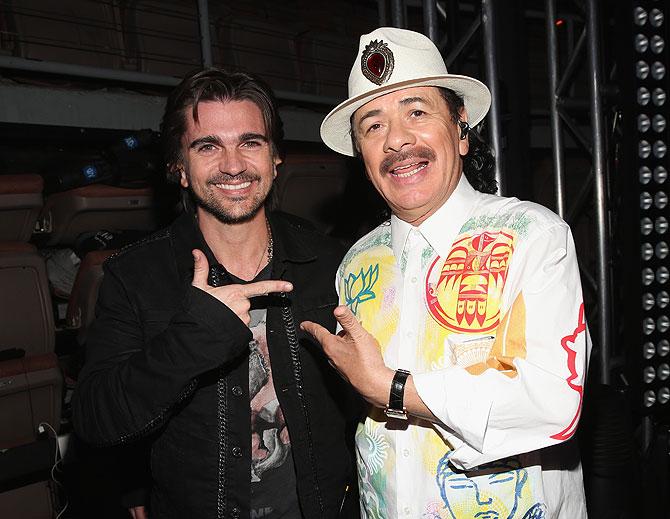 Juanes y Santana, Latin Grammys 2012