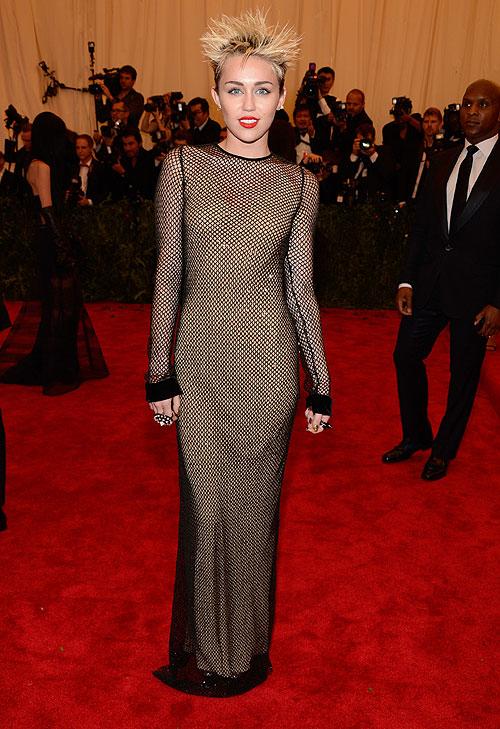 Miley Cyrus, gala, Met