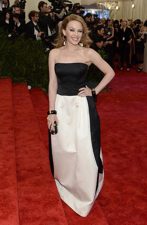 Kylie Minogue, gala, Met