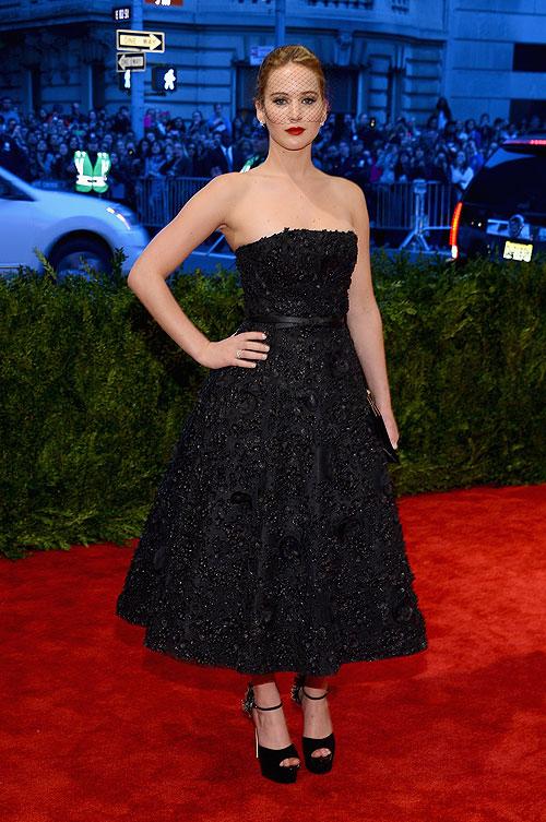 Jennifer Lawrence, gala, Met