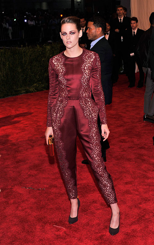 Kristen Stewart, gala, Met