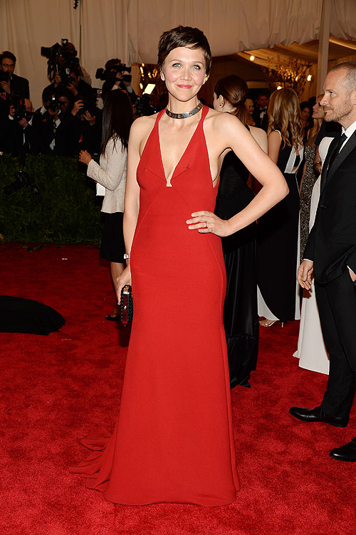 Maggie Gyllenhaal, gala, Met
