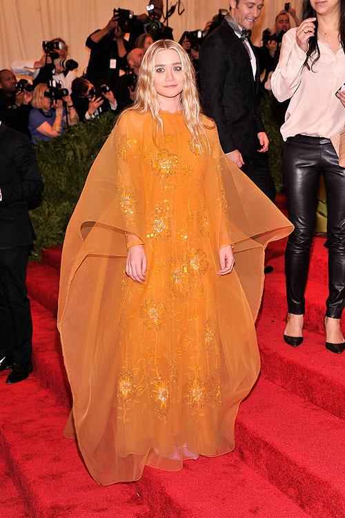 Ashley Olsen, gala, Met