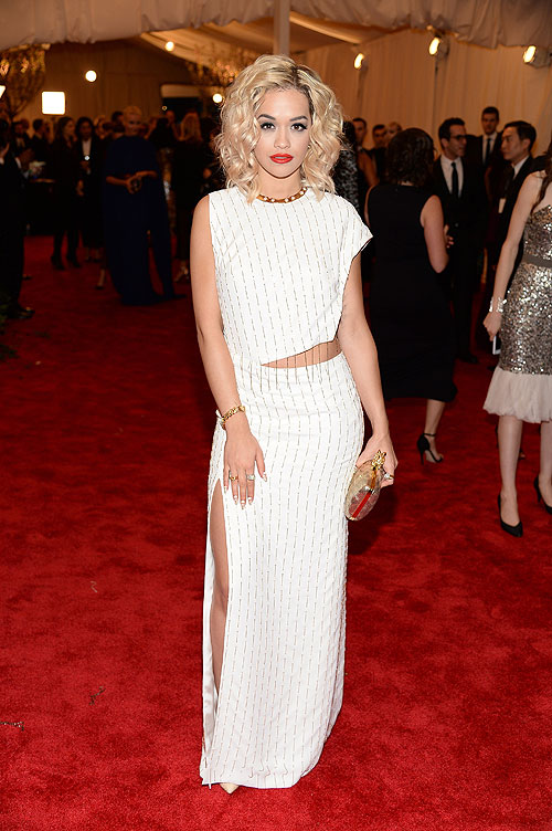 Rita Ora, gala, Met