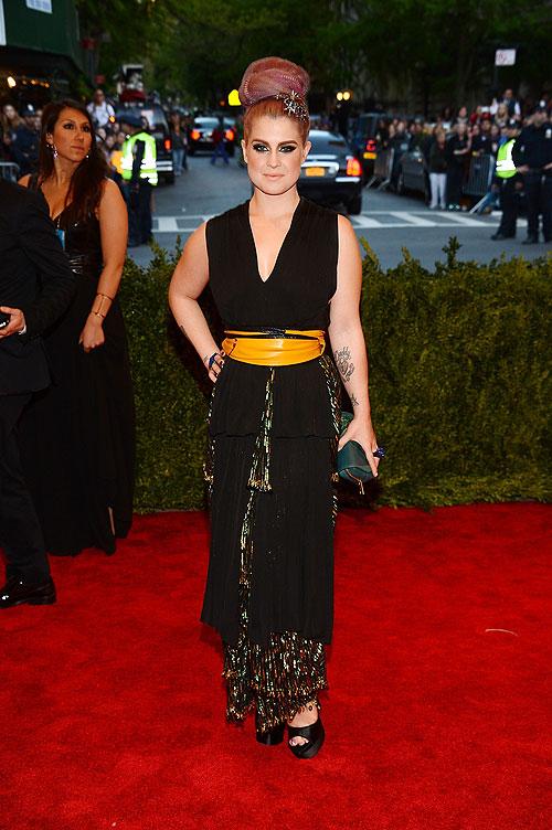 Kelly Osbourne, gala, Met