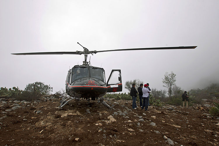 Muerte de Jenni Rivera, zona, accidente, avión