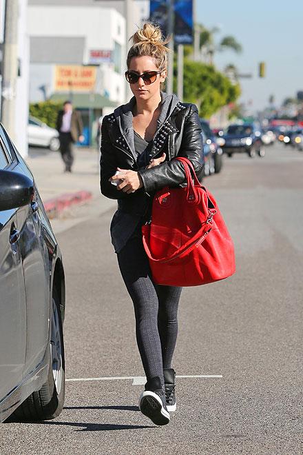 Ashley Tisdale, El look del día