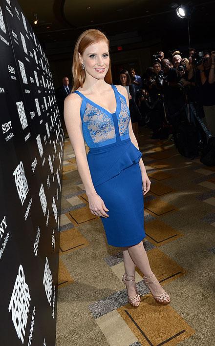 Jessica Chastain, el look del día