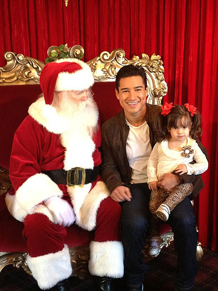 Mario López, Gia, Santa Claus, Míralos