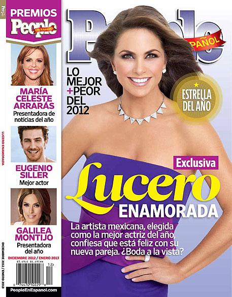 Lucero, People en Español, diciembre 2012