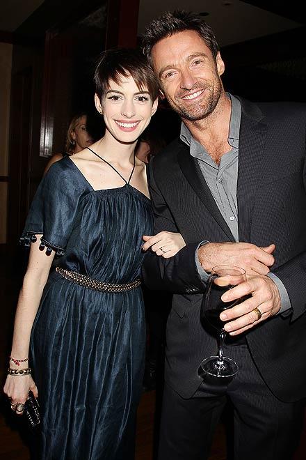 Anne Hathaway y Hugh Jackman, Míralos