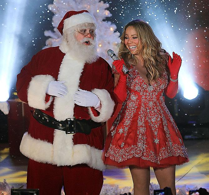 Mariah Carey, Santa Claus, Navidad