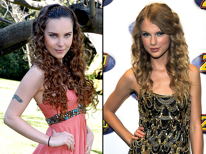 BELINDA & TAYLOR SWIFT
